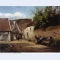 Village corner 1863