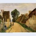 Village street auvers sur oise 1873