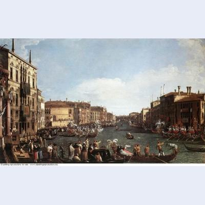 A regatta on the grand canal 1732