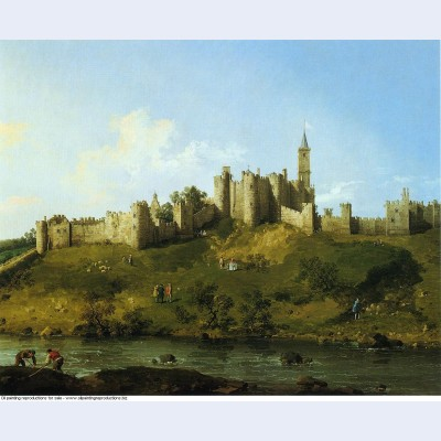 Alnwick castle 1747
