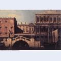 Capriccio the ponte della pescaria and buildings on the quay