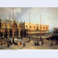 View of the church and the doge s palace from the procuratie vecchie