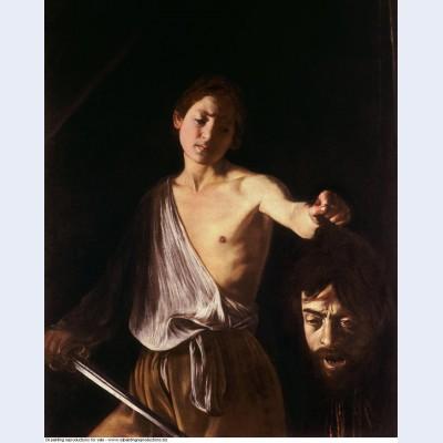 David con la testa di golia