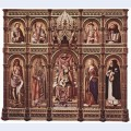Enthroned madonna 2