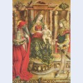 Enthroned madonna saint jerome and st sebastian
