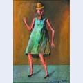 Mujer con sombrero mu equita
