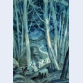 Illustration for the living forest