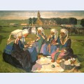 Femmes de plougastel au pardon de sainte anne la palud