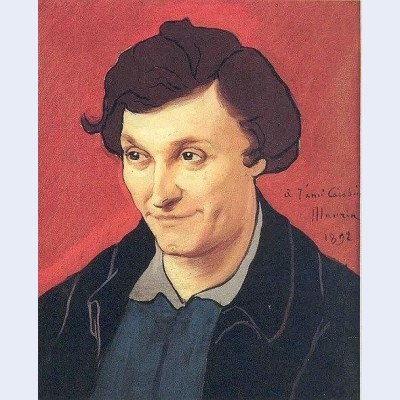 Portrait de fran ois rupert carabin