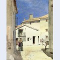 A street in denia spain