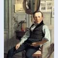 Portrait of frederik hansen s dring