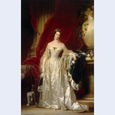 Portrait of empress alexandra fedorovna