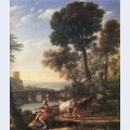 Landscape with apollo guarding the herds of admetus 2