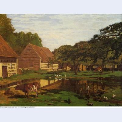 A farmyard in normandy