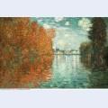 Autumn effect at argenteuil 1873
