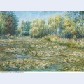 Blanche hoschede monet nympheas a giverny