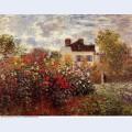 Monet s garden in argenteuil sun