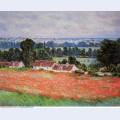 Poppy field at giverny