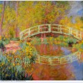 The japanese bridge the bridge in monet s garden 1896
