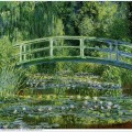 The japanese bridge the water lily pond 1899