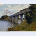 The railway bridge at argenteuil