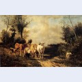 Returning from pasture