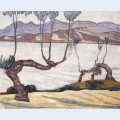 Landscape of nile aswan