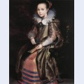 Elisabeth or cornelia vekemans as a young girl