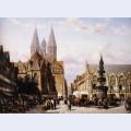 Altstadtmarkt in brunswijk