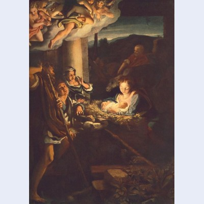 Adoration of the shepherds the holy night
