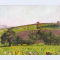 Emmental landscape with grazing animals
