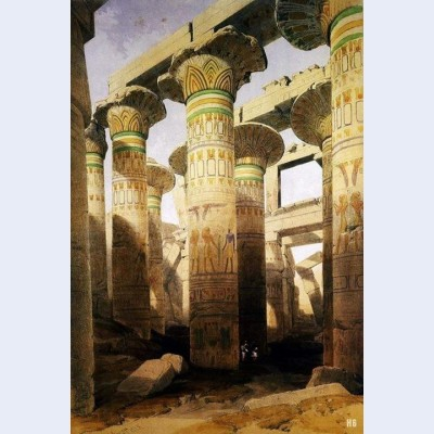 Architecture and art of the great temple of karnak city of thebes egypt