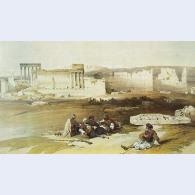 Baalbek general view