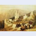Petra ruins of a triumphal arch