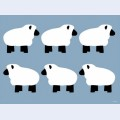 Blue sheep family