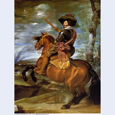 Equestrian portrait of don gaspar de guzmancount duke of olivares 1634
