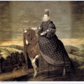 Portrait of queen margaret of austria 1635