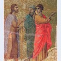 Christ on the road to emmaus fragment