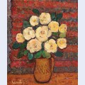 Mug with roses