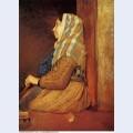 A roman beggar woman 1857