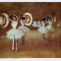 Dance rehearsal in the studio of the opera 1895