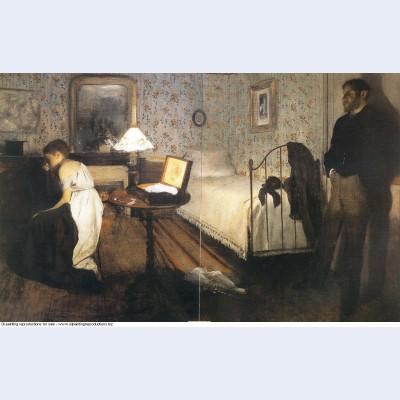 Interior the rape 1869