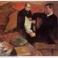 Pagan and degas father 1895