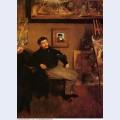Portrait of james tissot 1868