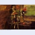 Portrait of mme rene de gas born estelle musson 1873