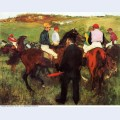 Racehorses at longchamp 1875