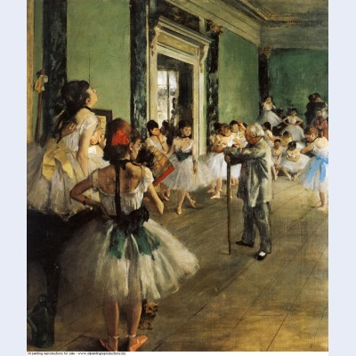 The dancing class 1874