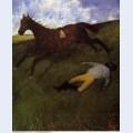 The fallen jockey