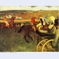 The racecourse amateur jockeys 1880