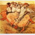 Three russian dancers 1895
